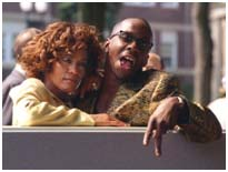 Whitney Houston with Bobby brown