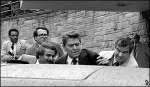 Ronald Reagan assasination attempt