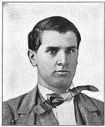 William McKinley when he was a teenager