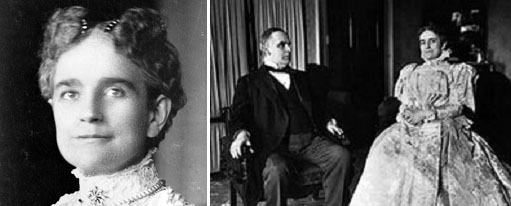 William McKinley and his wife, Ida Saxton