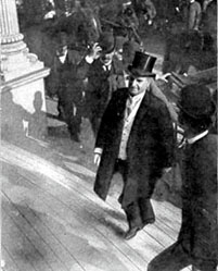 William McKinley about 15 minutes prior to getting shot