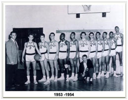 Wilt Chamberlain high school team photo