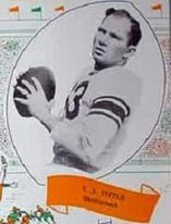 Y.A. Tittle early football photo