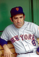 Yogi Berra managing the Mets