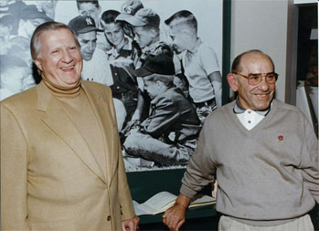 Yogi Berra and George Steinbrenner