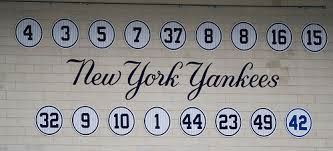 Yankee retired numbers