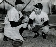 Berra and Bill Dickey
